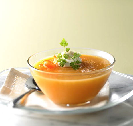 Chilled Carrot Apple Soup Royal Caribbean Connect