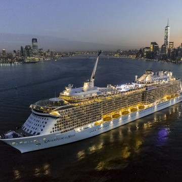 Thumbnail: Quantum of the Seas: By the Numbers