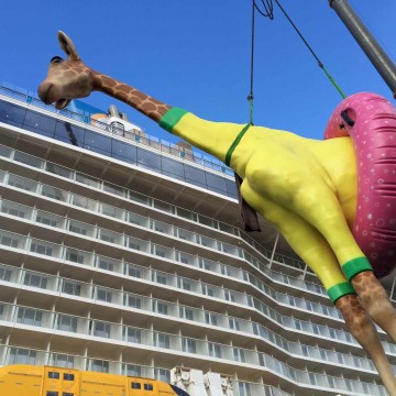 Thumbnail: All About the Giant Giraffe on Anthem of the Seas
