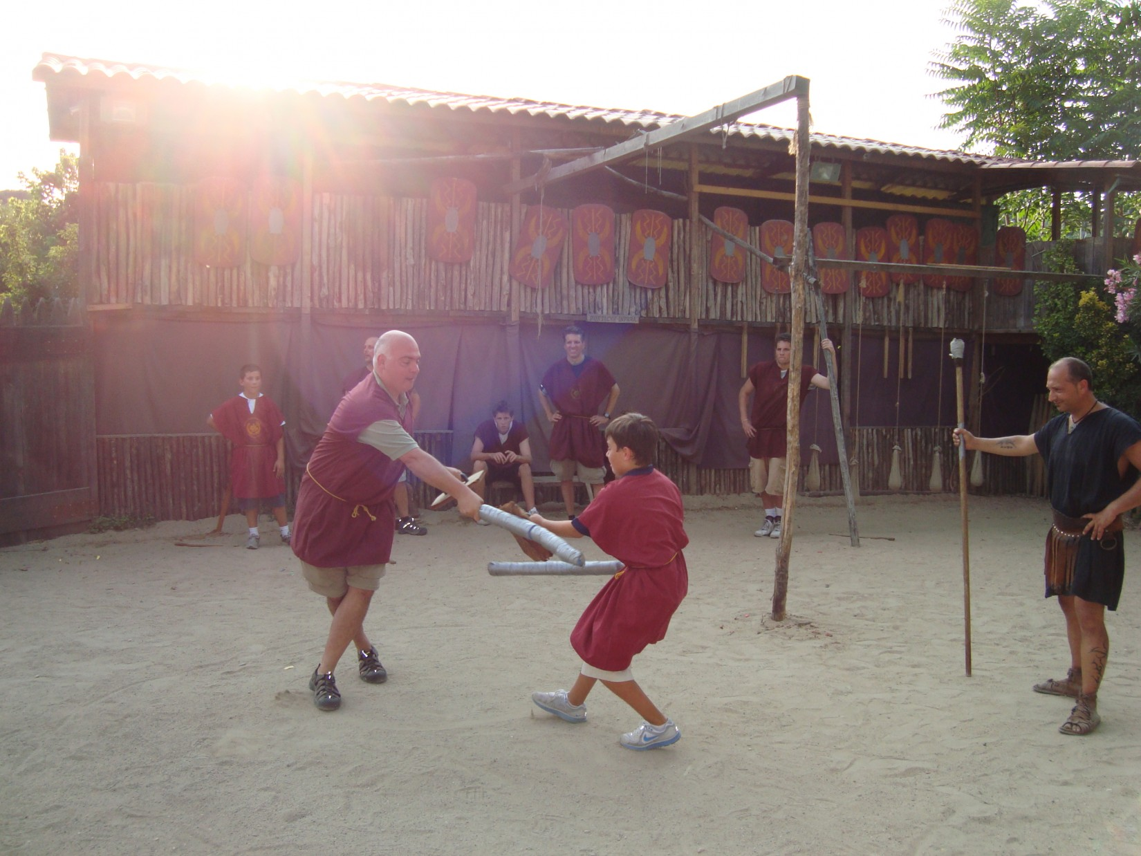 roman-gladiator-training-royal-caribbean