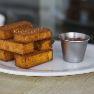 Thumbnail: A Very Royal Recipe: Crispy Polenta Fries