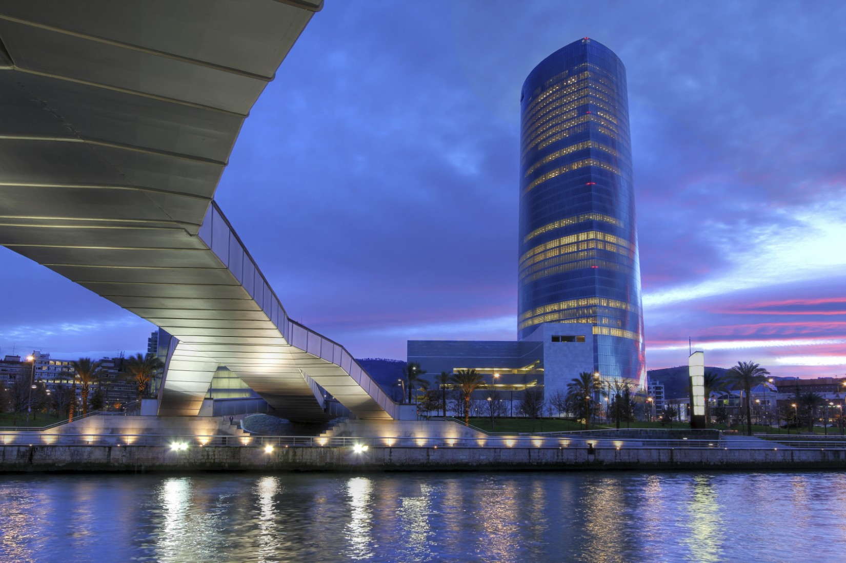 Iberdrola Tower, Bilbao, Spain