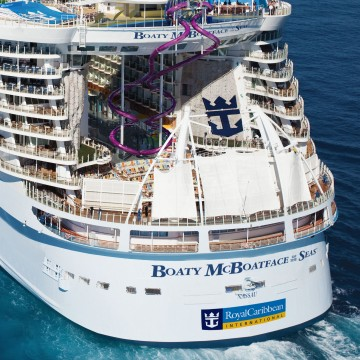 Thumbnail: Boaty McBoatface Wordsmith to Advise Royal Caribbean on Future Ship