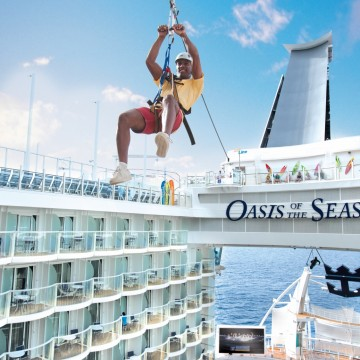Thumbnail: <i>Harmony of the Seas</i> Sport Zone Not for the Faint of Heart