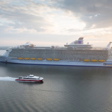 Thumbnail: First Look: World's Largest Ship, Harmony of the Seas